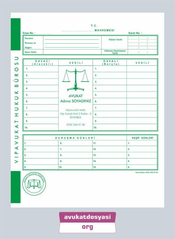 Avukat İcra Dosyası 66