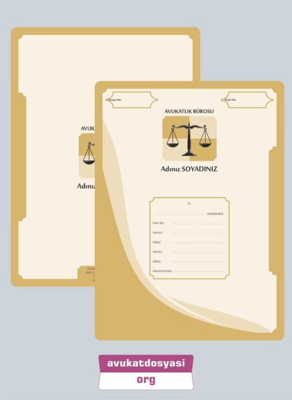Avukat Büro Dosyası 57
