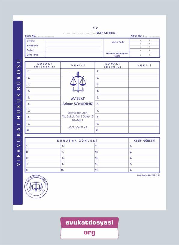 Avukat İcra Dosyası 65