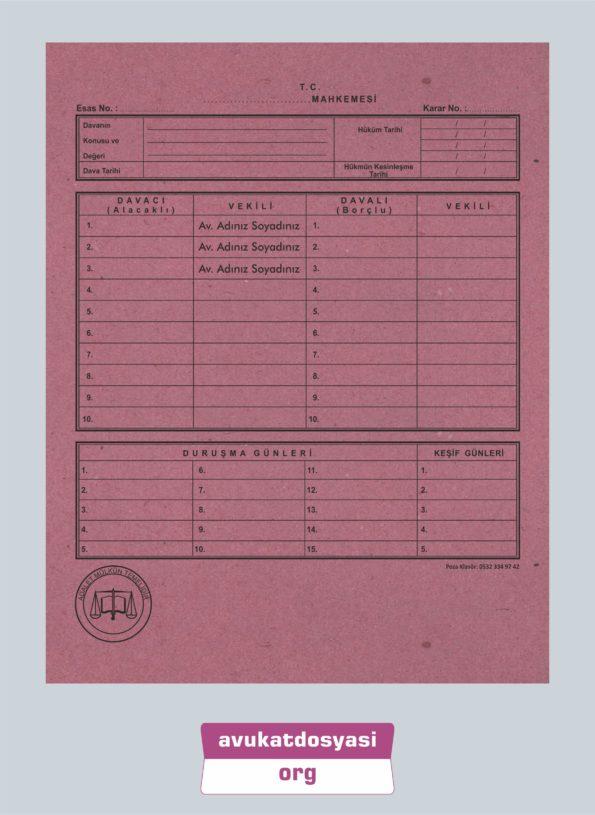 Avukat İcra Dosyası 64